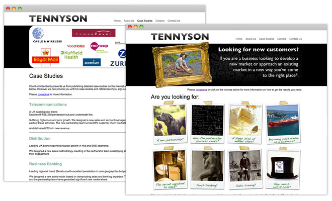 Tennyson Insurance Website